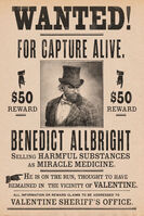 BenedictAllbright-RDR2-BountyPoster
