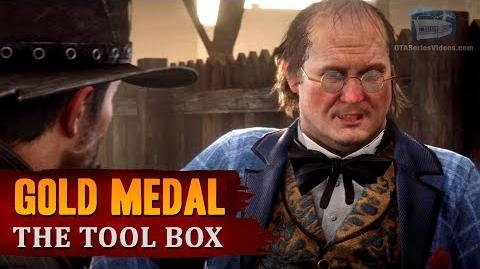 Red Dead Redemption 2 - Mission 100 - The Tool Box Gold Medal
