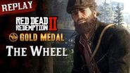 RDR2 PC - Mission 84 - The Wheel Replay & Gold Medal
