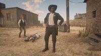 Sheriff Palmer in Tumbleweed during the Del Lobo arrest random encounter