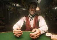 The Grand Korrigan card dealer