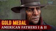Red Dead Redemption 2 - Mission -51 - American Fathers I & II -Gold Medal-