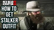 Red Dead Redemption 2 - How To Get Stalker Outfit! Location Guide