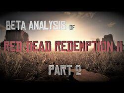 Beta Analysis of Red Dead Redemption II -Part 2-