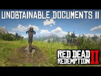 Red Dead Redemption 2 - Unobtainable Documents Part 2