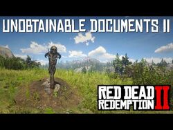 Red Dead Redemption 2 - Unobtainable Documents Part 2