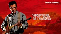 Lenny Summers - Red Dead Redemption 2