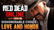 Red Dead Online - Mission 1 - Love and Honor (Dishonorable) Gold Medal