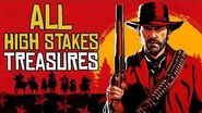 Red Dead Redemption 2 ALL High Stakes Treasure Locations