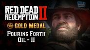RDR2 PC - Mission 19 - Pouring Forth Oil II Replay & Gold Medal
