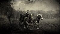 Stagecoach in Big Valley loading screen