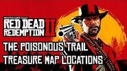 Red Dead Redemption 2 - All Poisonous Trail Treasure Map Locations & Solutions (RDR2)