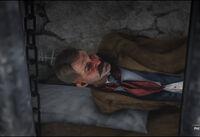 Bart Cavanaugh in jail cell