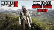 Red Dead Redemption 2 - How To Get The Ghost Bison Outfit! Location Guide