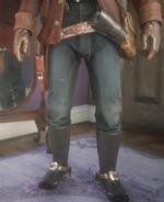Padded Saddle Work Pants