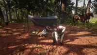 The two bounty hunters campsite