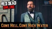 Red Dead Online Moonshiners Mission 3 - Come Hell, Come High Water (Ruthless Difficulty - Solo)