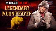 Red Dead Online - Legendary Moon Beaver Location Animal Field Guide