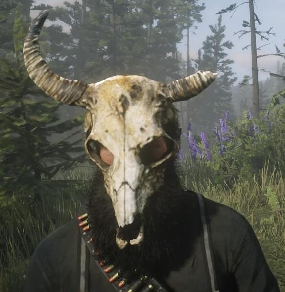 Pagan Skull Mask