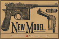 MAUSER PISTOL RDR2 Wheeler Rawson and Co