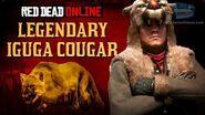 Red Dead Online - Legendary Iguga Cougar Location Animal Field Guide