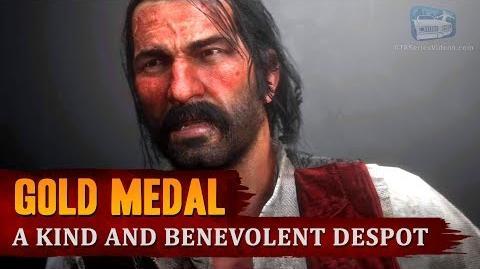 Red Dead Redemption 2 - Mission 60 - A Kind and Benevolent Despot Gold Medal