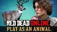 Red Dead Online - Play as a Buck Harrietum Officinalis
