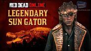 Red Dead Online - Legendary Sun Gator Location Animal Field Guide