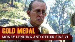 Red Dead Redemption 2 - Mission 67 - Money Lending and Other Sins VI Gold Medal