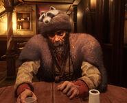 Jon at bar with hat rdr2