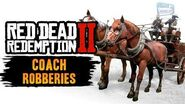 Red Dead Redemption 2 All Coach Robberies