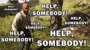 Help, Somebody!! (Funny Red Dead Redemption 2 Glitch)