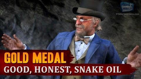 Red Dead Redemption 2 - Mission 16 - Good, Honest, Snake Oil Gold Medal
