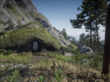 Mysterious Hill Home