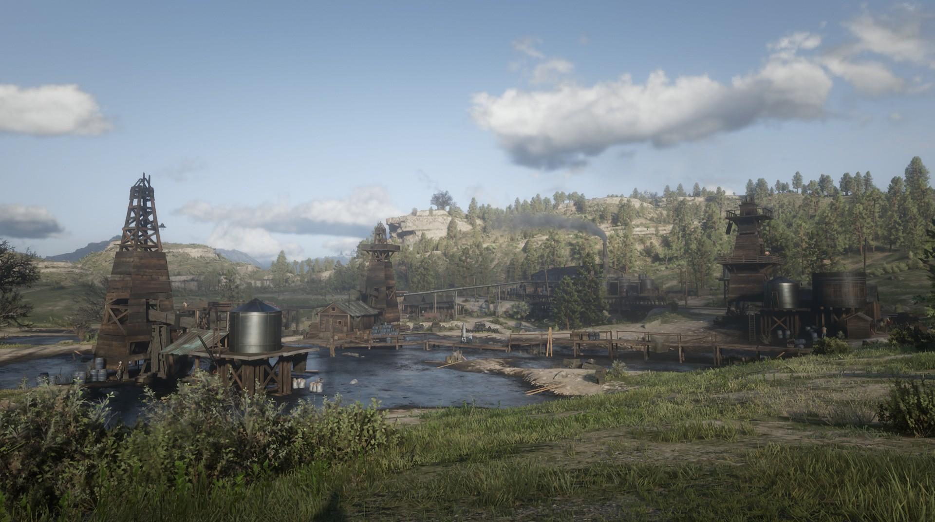 Heartland Oil Fields