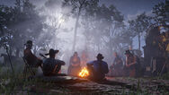 Arthur and the gang camping rdr2