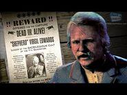 """Red Dead Online Legendary Bounty -13 - """"Shepherd"""" Virgil Edwards (5-Star Difficulty - Solo)"""