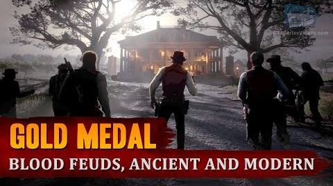 Red Dead Redemption 2 - Mission 41 - Blood Feuds, Ancient and Modern Gold Medal