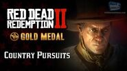 RDR2 PC - Mission 53 - Country Pursuits Replay & Gold Medal