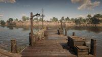 Thieves' Landing pier