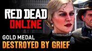 Red Dead Online - Mission 13 - Destroyed by Grief Gold Medal