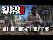 Red Dead Redemption 2 - All Document Locations