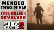 Torn (Mended) Treasure Map Location Otis Miller's Revolver Red Dead Redemption 2
