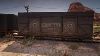 Lemoyne line train in New Austin