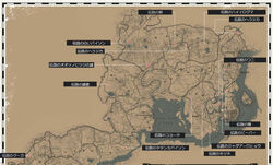 RDR2 伝説の動物の一覧マップ.jpg