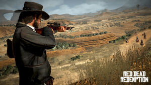 Marston au fusil de précision.