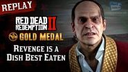 RDR2 PC - Mission 54 - Revenge is a Dish Best Eaten Replay & Gold Medal