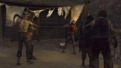 Seth dansant avec des morts-vivants