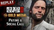RDR2 PC - Mission 11 - Paying a Social Call Replay & Gold Medal
