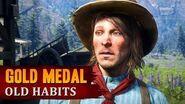Red Dead Redemption 2 - Mission 91 - Old Habits Gold Medal